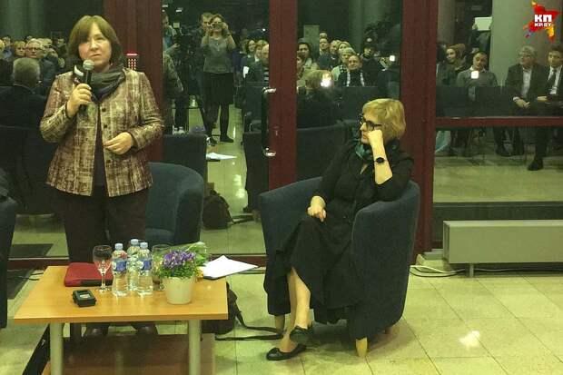 Гостем Интеллектуального клуба нобелевского лауреата Светланы Алексиевич стала Рута Ванагайте