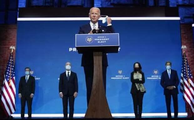 На фото: избранный президент США Джозеф Байден представил кандидатов на ключевые посты в новой администрации президента США