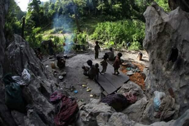 7. Рук аборигены, вокруг света, племена, познавательное