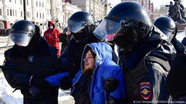 Задержания во Владивостоке