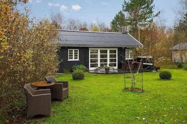 Крохотный домик (43 м2) с тремя спальнями, кухней и санузлом: светлый, уютный