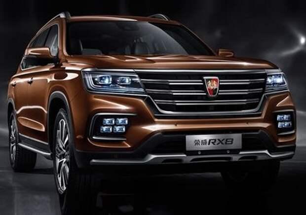 Roewe RX8 – новый рамный внедорожник из Китая