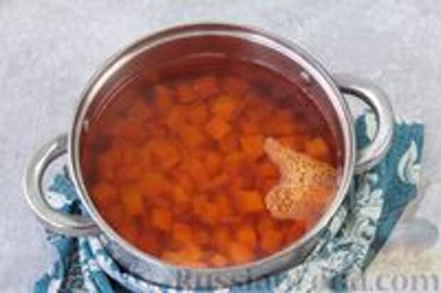 Фото приготовления рецепта: Острая морковь в горчичном масле - шаг №3