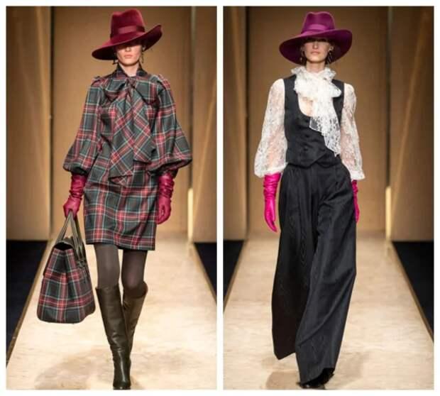 Как и с чем носить шляпу: Шикарные образы для элегантных дам