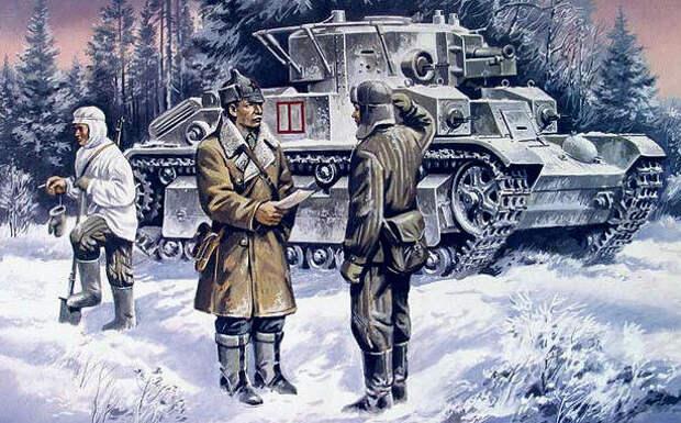 Зимняя война СССР - Финляндия