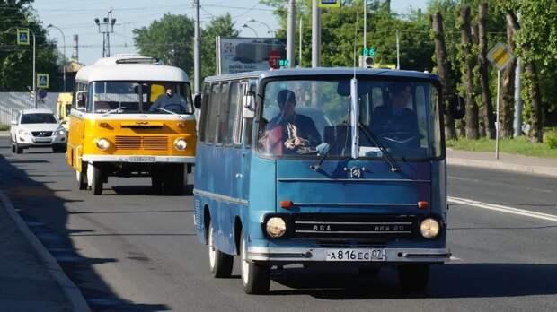 Май 2018, Нано-Икарус выезжает на парад! АКХ-60, авто, автобус, икарус, олдтаймер, ретро техника, самоделка, самодельный автомобиль