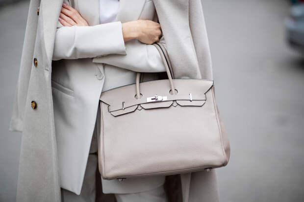 Продажи Hermès выросли на 44%. В числе лидеров — сумки