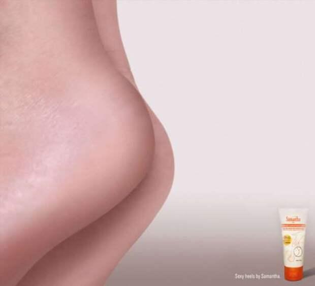 Самые эротичные минималистские образцы наружной рекламы