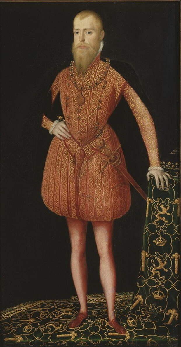 Эрик XIV, король Швеции. upload.wikimedia.org - Нарвское плавание: громкие слова, риски и выгоды | Warspot.ru