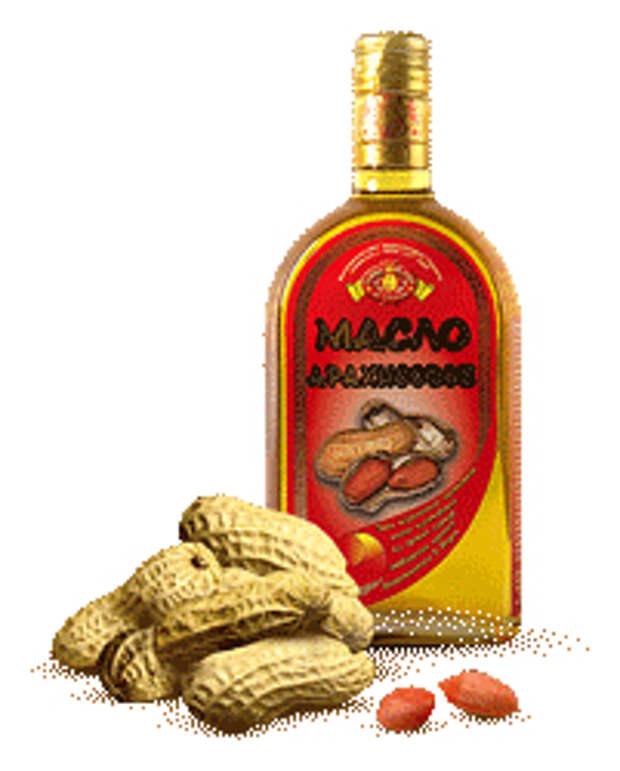 Ореховые масла. Арахисовое масло.