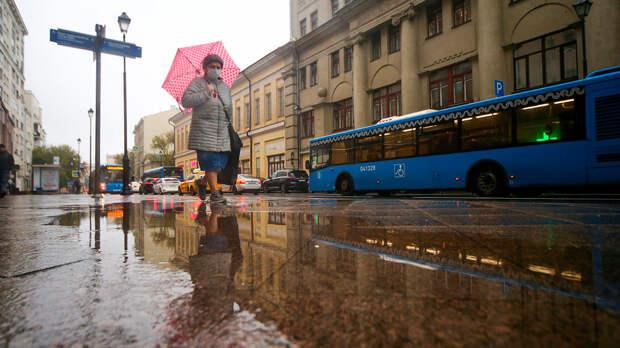 Дожди и температура ниже нуля ожидают москвичей 19 октября