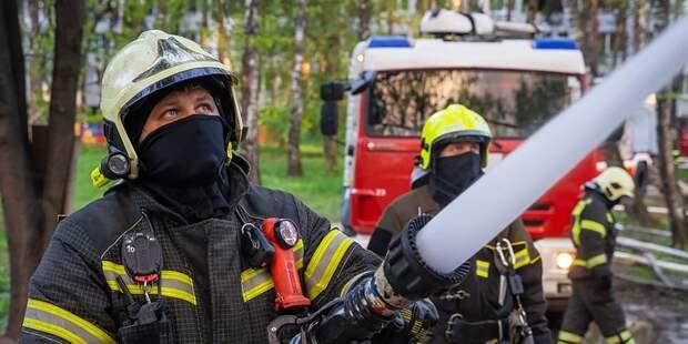 Пожарные и спасатели столицы в майские праздники спасли 6 человек и оказали помощь 158 пострадавшим