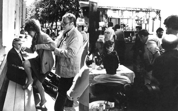 «Вокзал для двоих». Фотографии со съёмочной площадки...