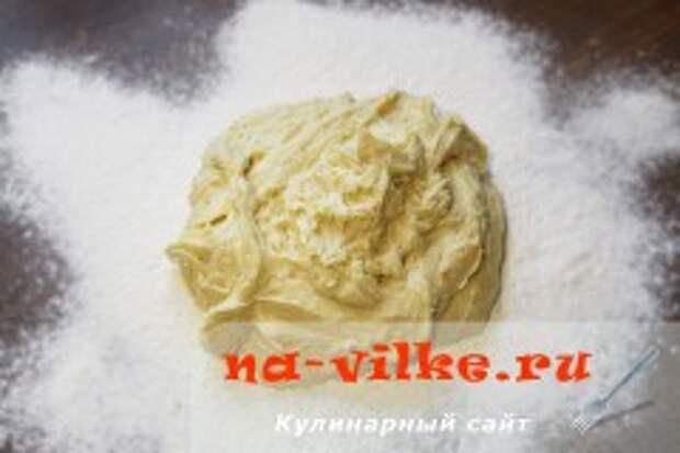 Апельсиновое печенье из песочного теста