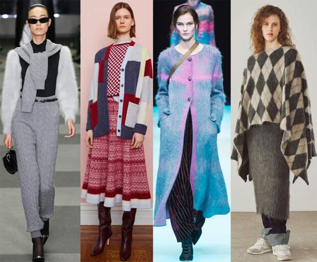 женская одежда из трикотажа 2018-2019