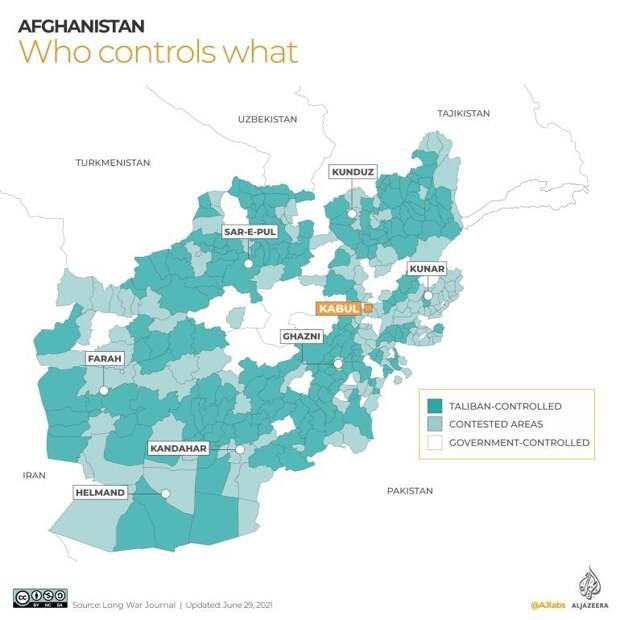 Курс на легализацию: чем грозит победа «Талибана» соседям Афганистана