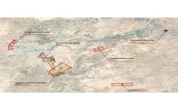 Территорию СЭЗ Turkistan намерены расширить с 3 тыс. почти до 4 тыс. га