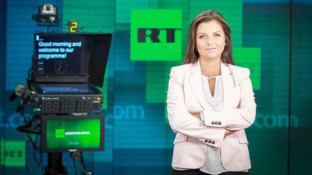 Симоньян удивила реакция стран Запада на арест Вышинского