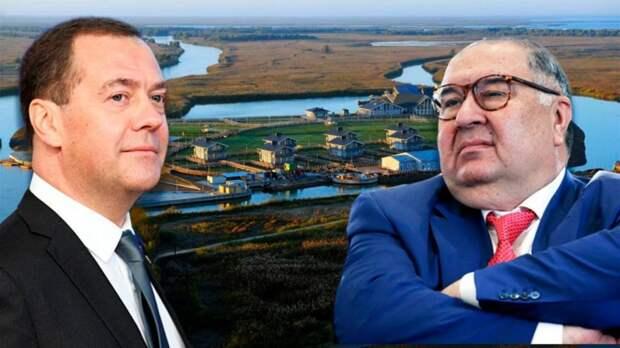 Волжские острова Медведева — без уточек, но с Усмановым