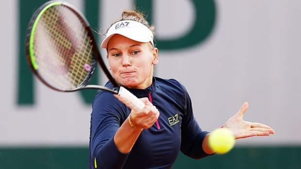 Кудерметова поднялась на 36-е место в рейтинге WTA