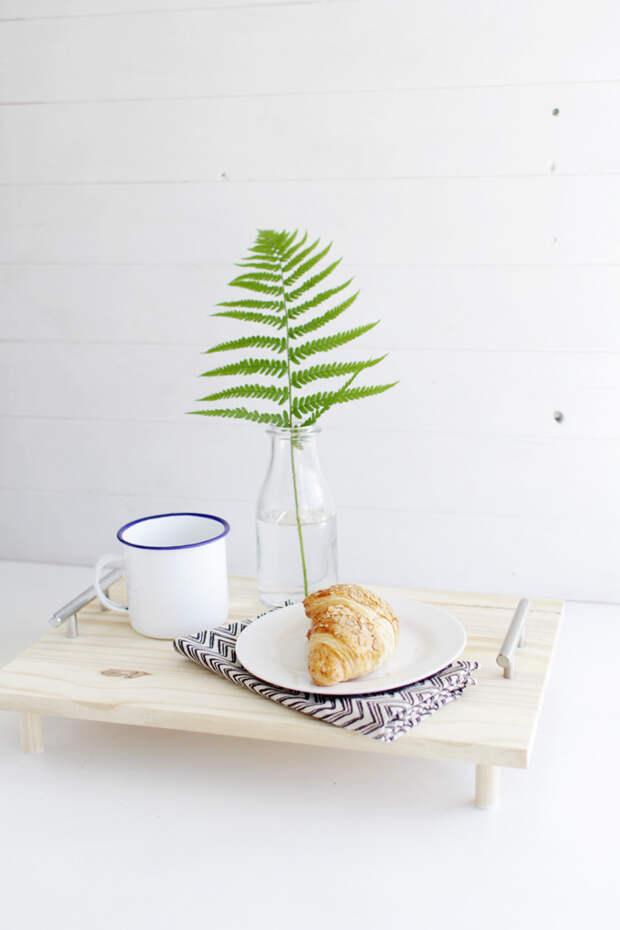 DIY Pine Serving Tray 11