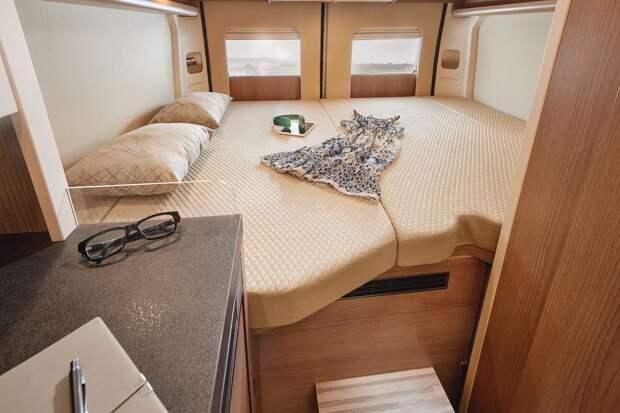 Премиальный автодом Malibu с «царской» кроватью