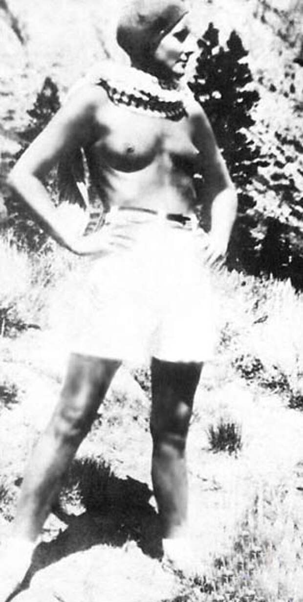 Обнаженная Грета Гарбо Фото / Greta Garbo nude. Photo
