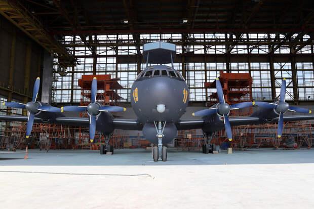 Первый Ил-38Н по контракту 2012 года