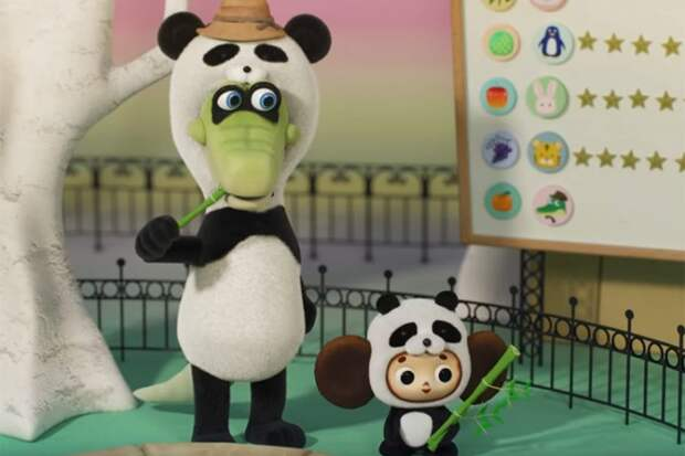Японцы сняли мультфильм про Чебурашку — странный, но очень милый
