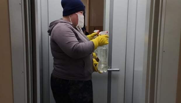Уборку дома в Подольске по результатам проверки признали удовлетворительной