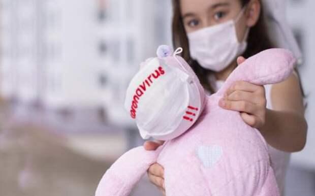 Британский Штамм коронавируса угрожает шести категориям детей