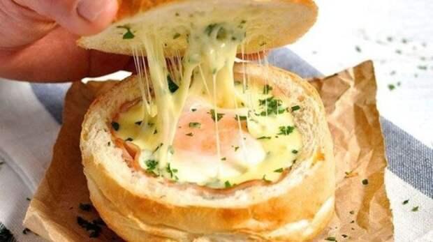 Вкусный и быстрый завтрак: Булочка с секретом. \ Фото: intex-press.by.