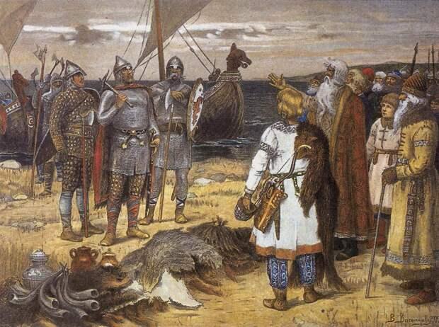 Новгородская земля до возникновения Новгорода