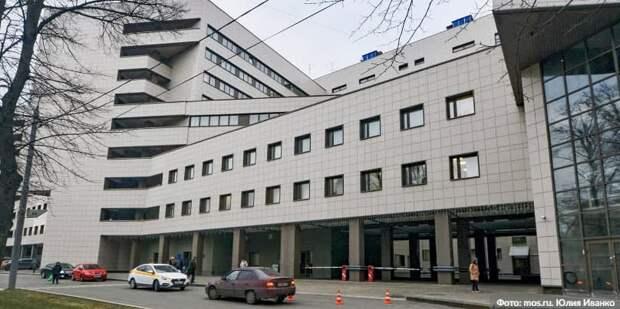 Собянин: Боткинская больница станет одной самых современных клиник в Европе/Фото: Ю. Иванко mos.ru