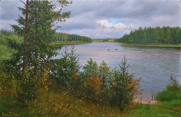 Великолепные пейзажи художника Зорюкова А.В.