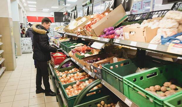В Оренбуржье за неделю заметно подорожали овощи и яйцо