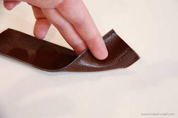 Картинка делаем детские сандалии для девочки своими руками