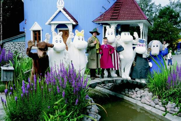 Сказка жива: парк Муми-троллей в Финляндии, который открыт только летом