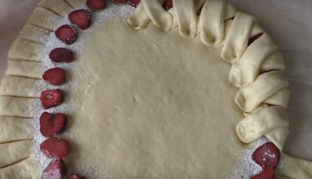 Очень вкусный и необычный пирог