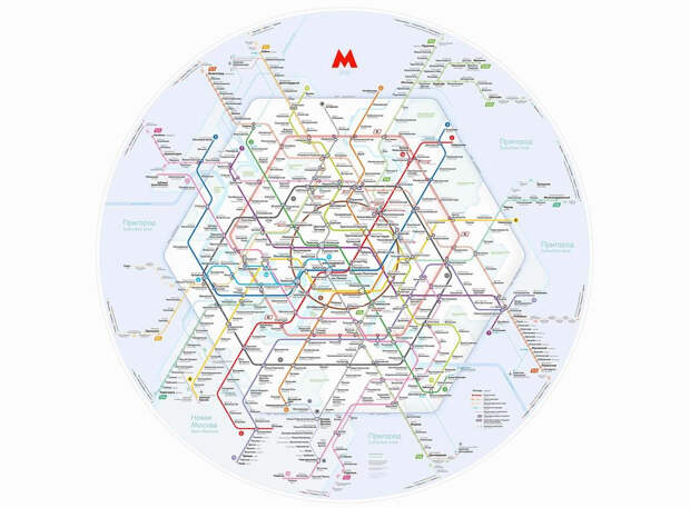 Гексагональная схема Московского метро, оплата по лицу и автоматизация стройотрасли