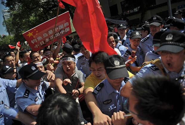 Антияпонские протесты в Гуанчжоу, 2012 год