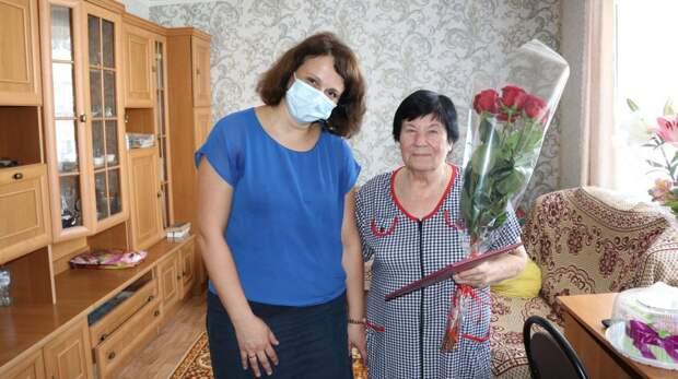 Администрация города Феодосии поздравляет с юбилеем Ольгу Ивановну Макушину!