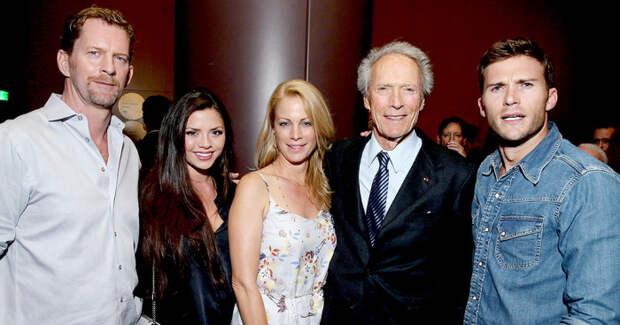 Клинт Иствуд, семья