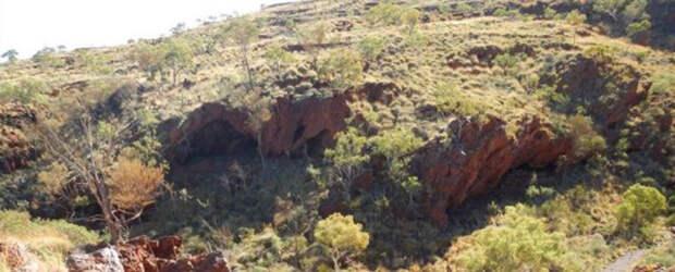 Джуукан, место, где находились артефакты аборигенов и которое впоследствии было уничтожено в ходе законной операции по добыче полезных ископаемых.