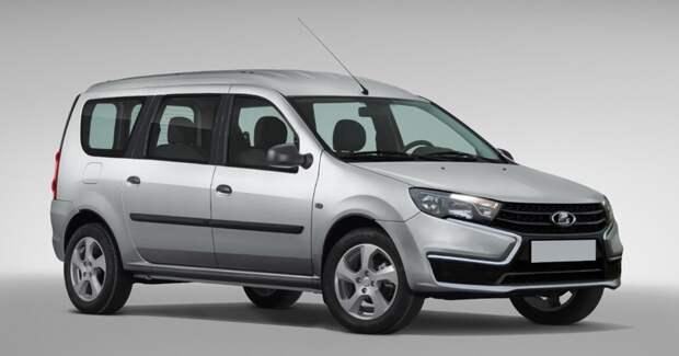 На АвтоВАЗ сошел с конвейера первый обновленный автомобиль Lada Largus Facelift