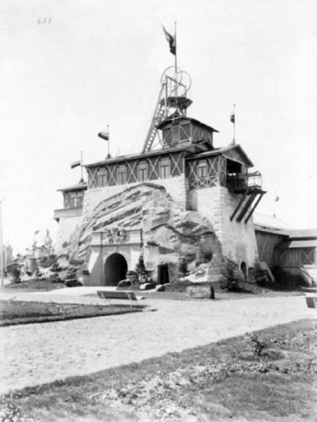 Павильон горного дела на XVI всероссийской выставке в Нижнем Новгороде в 1896 году.