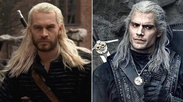 Ведьмак. Образы персонажей в сериалах 2002 и 2019 годов. Сравнение (21 персонаж!)