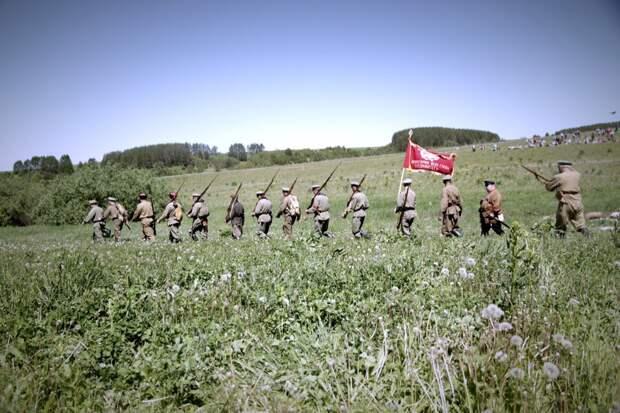 В Удмуртии воспроизведут один из боев времен Гражданской войны
