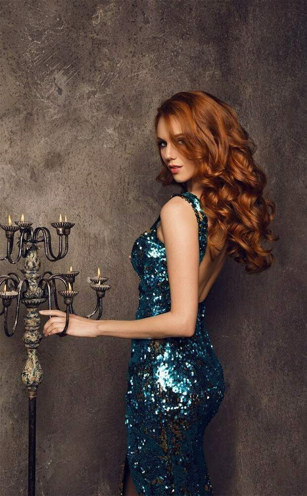 5. Инквизиция, девушка, костер, красота, рыжая, рыжие волосы