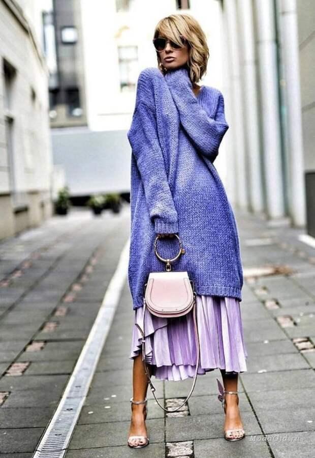 Необычные свитера с изюминками